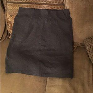 Dark Gray pencil Skirt Old Navy medium